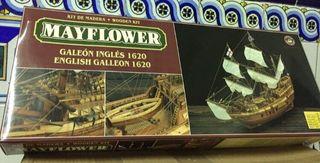 Maqueta galeón inglés Mayflower