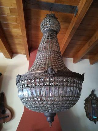 Gran lampara araña francesa