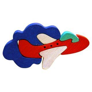 Mini puzzle Avión 3D - Madera