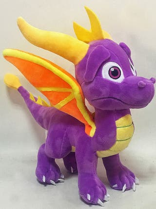 Peluche SPYRO Gigante 30cm dragon pokemon switch