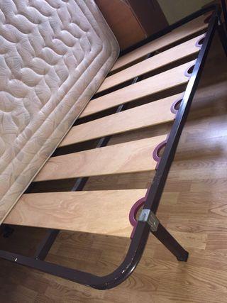 Colchón 135 + Funda de colchón + Somier