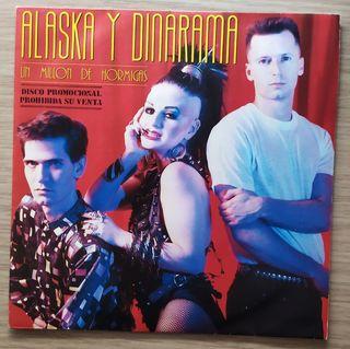 Disco de Vinilo Single PROMO Alaska y Dinarama