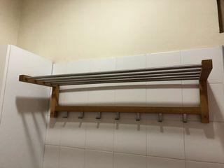 Percha baño vestuarios ikea