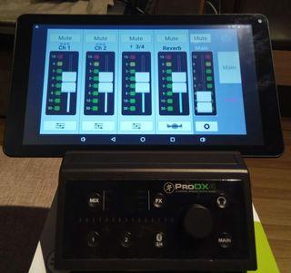 Ocasión mesa Mackie Pro DX4