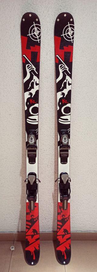 Esquís Freeride K2