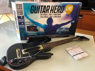 Guitarra guitar hero iOS para iPhone ipad