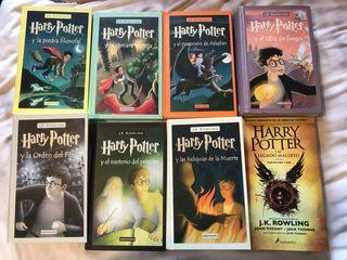 Colección 8 libros Harry Potter