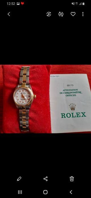 Reloj Rolex señora acero-oro.