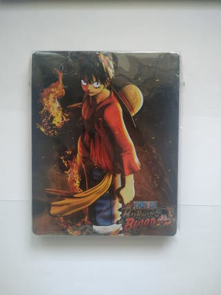One Piece Burning Blood steelbook