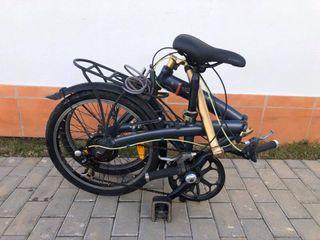 Bicicleta decathlon plegable como nueva
