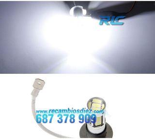 KIT DE BOMBILLAS ANTINIEBLA LED H3 60 WATIOS CANBU