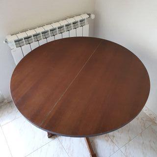 Mesa extensible redonda