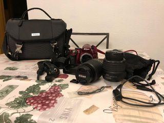 Cámara profesional Nikon D5200