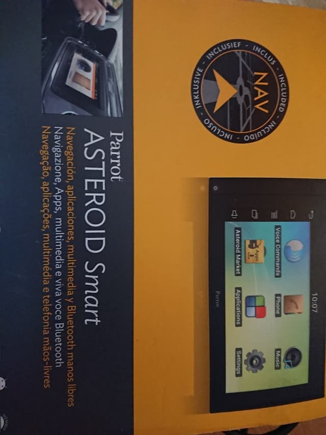 navegador para integrar en coche