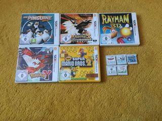 Juegos de Nintedo 3DS y DS
