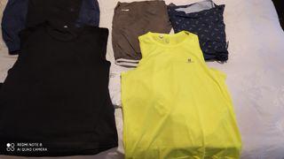 pack ropa deporte talla M hombre