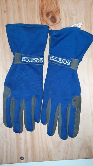 Guantes karting sparco.