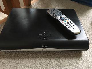 Sky+HD Box, Wireless Connector & Remote