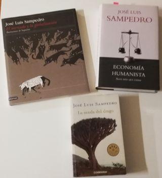 """José Luis Sampedro """" varios libros"""