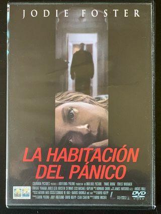 La habitación del pánico DVD