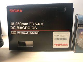 Objetivo Sigma 18-250mm para Nikon