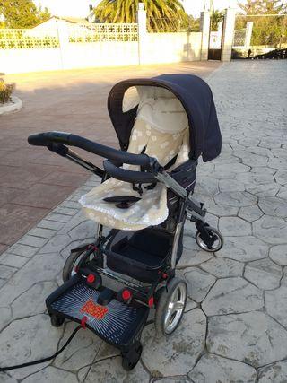 capazo+silla Bebecar