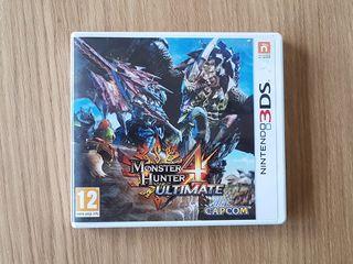 Monster Hunter 4 Ultimate N3DS
