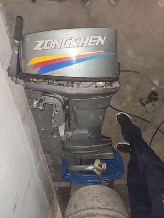 Motor fuera de borda, marca zongshen.