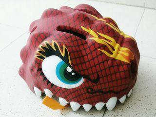 casco infantil dragón xs