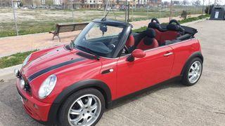 2005 Red Mini Cooper Cabriolet