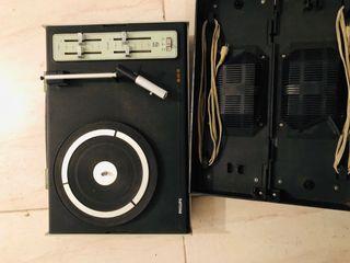 Tocadiscos portátil Philips 603