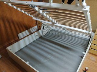 Canape Ikea Tenevoll y colchon Hyllestad 200x160