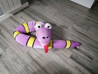 peluche serpiente gigante