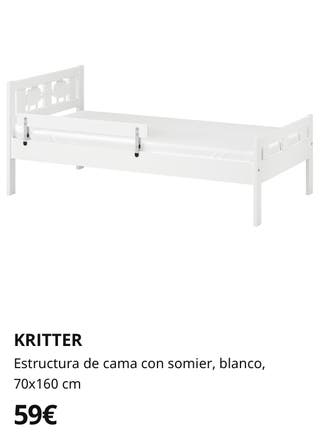 Conjunto 2camas infantiles Kritter IKEA