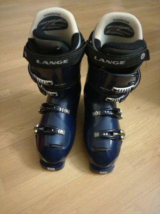 Botas de esquí con bolsa