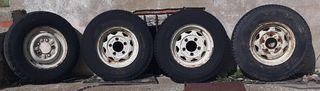 ruedas de land rover santana