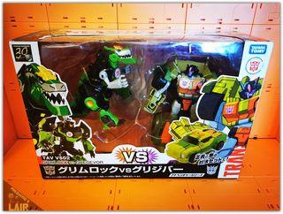 Transformers Takara TAV Grimlock VS Gregevor