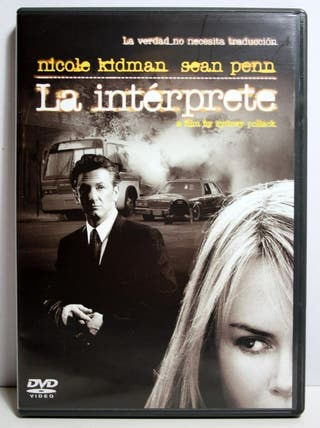 La interprete dvd
