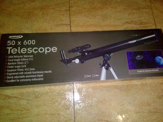 NUEVO Telescopio zennox 50x600