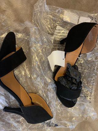 Zapatos tacón H&M T40