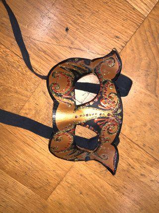 Mascara Venecia para disfraz gato