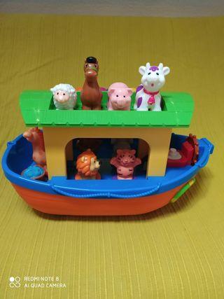 juguete barca de noe
