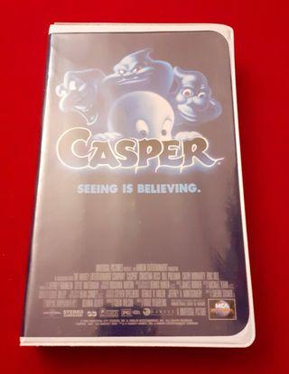 "PELÍCULA VHS ""CASPER"""