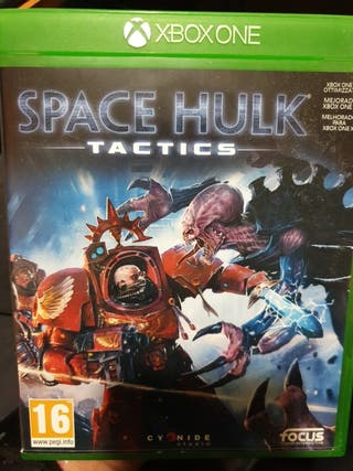 space hulk tactics xbox one, perfecto estado w40k
