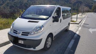 Nissan Primastar 9 plazas. Trafic, Vivaro