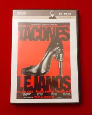 """PELÍCULA EN DVD """"TACONES LEJANOS """""""