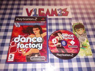 Dance factory en Español Ps2 PlayStation 2