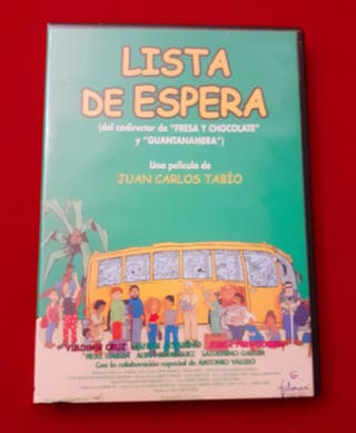 """PELÍCULA EN DVD """"LISTA DE ESPERA"""""""