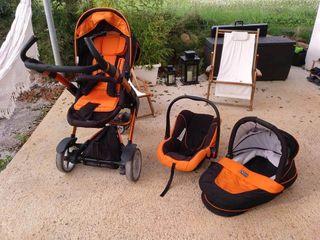 ABC 3TecDesign Carrito 2 en 1+ silla (0-9 kg)