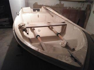 Bote de pesca + carro transporte